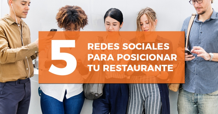 5 social networks to position your restaurant