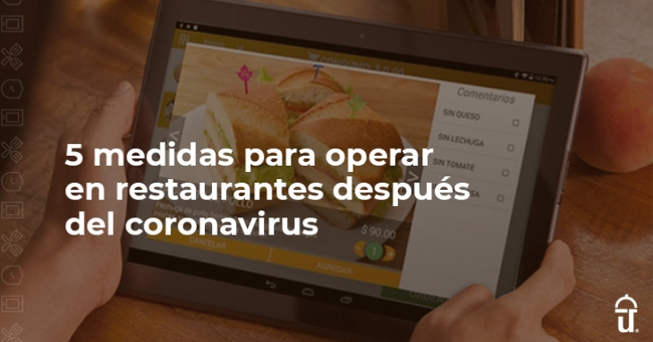 5 measures to operate in restaurants after the coronavirus