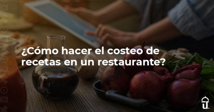 How to do recipe costing in a restaurant?