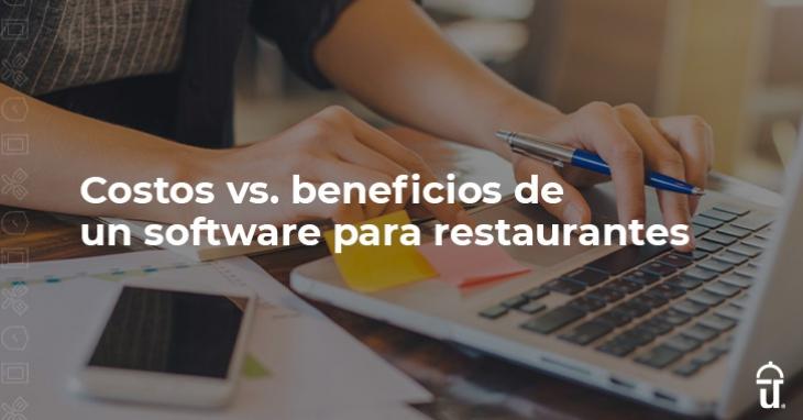 Costs vs. benefits of restaurant software