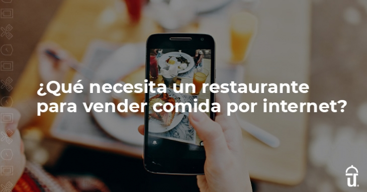 What does a restaurant need to sell food online?