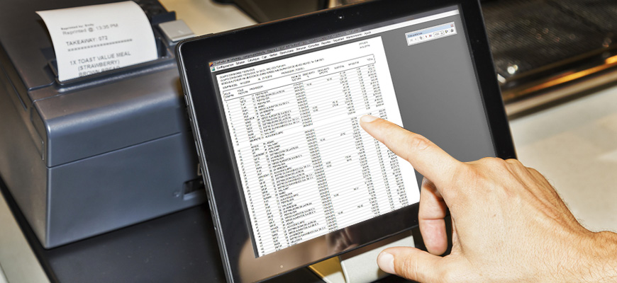 restaurant sales reports that you can get with a restaurant software