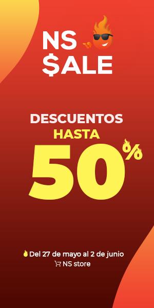 NS Sale descuentos hasta del 50%